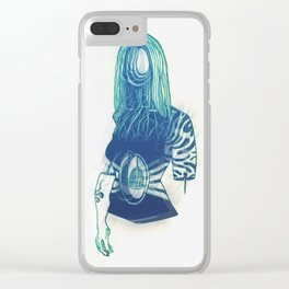 Faceless Clear iPhone Case