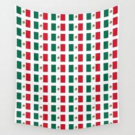 Flag of mexico 3 - mexico,mexico city,mexicano,mexicana,latine,peso,spain,Guadalajara,Monterrey Wall Tapestry