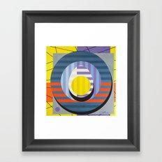 Egg - Paint Framed Art Print