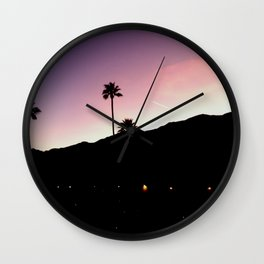 Palm Springs Wall Clock