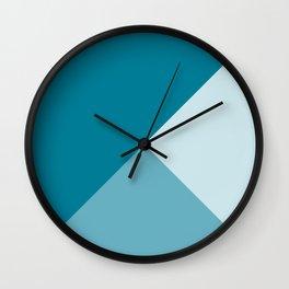 Blue Tones Wall Clock