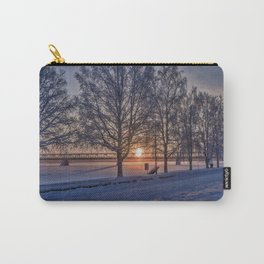 Sunset in Rovaniemi. Carry-All Pouch