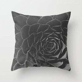 Succulent Texture Throw Pillow