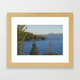 Trees + Tahoe III Framed Art Print