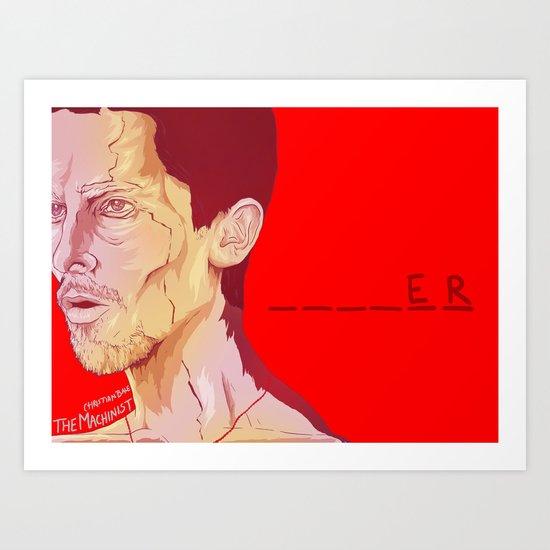 The Machinist Art Print