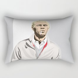 Steve McQueen Rectangular Pillow