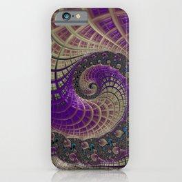 Fractal Beauty iPhone Case