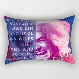 Rock Me Amadeus Rectangular Pillow