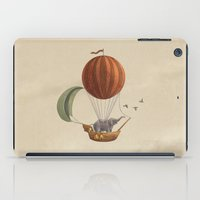 adventure iPad Cases featuring Adventure Awaits  by Terry Fan