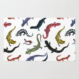 Northeastern Salamanders Rug