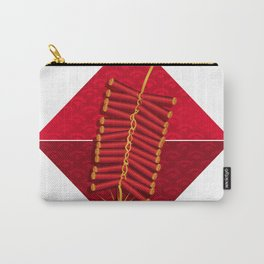 Firecrackers Vietnamese Lunar New Year Phao Tet Holiday Carry-All Pouch