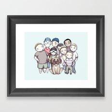 Sandlot Framed Art Print