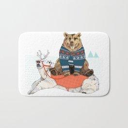 Bear Sleigh Bath Mat