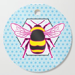 Geometric Bumblebee Cutting Board