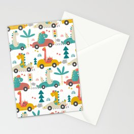Amazing Cool Dino Design Stationery Cards