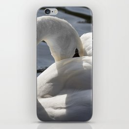 Swan Peace iPhone Skin