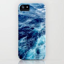 Rough Ocean Waves iPhone Case