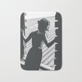 Beautiful Woman Vintage Bath Mat