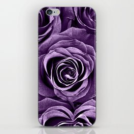 Rose Bouquet in Purple iPhone Skin