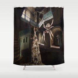 damsel in distress Shower Curtain