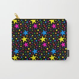 Colorful Stars Carry-All Pouch