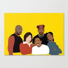 Marrtttiinnnn - Classic TV Canvas Print