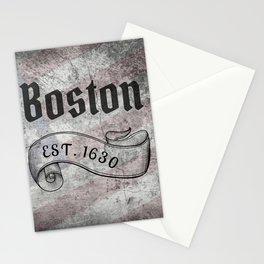 Boston, MA Stationery Cards