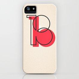 """B"" iPhone Case"