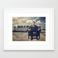 camping Framed Art Prints featuring Camping by Fabrizio Calicchia