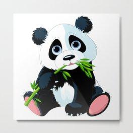 BABY---PANDA Metal Print