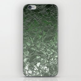 Grunge Relief Floral Abstract G167 iPhone Skin