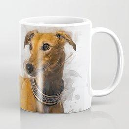 Greyhound Art Coffee Mug