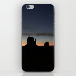 Sunrise at Monument Valley iPhone Skin
