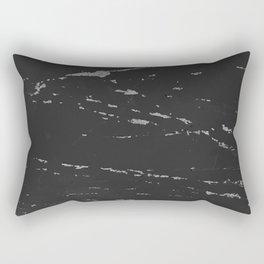 DARK GRUNGE TEXTURE II Rectangular Pillow