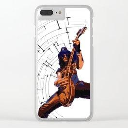 Slash, Guns n Roses Clear iPhone Case