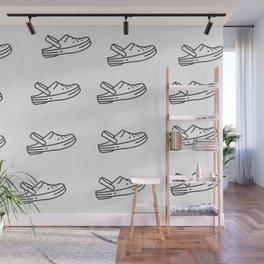 crocs Wall Mural