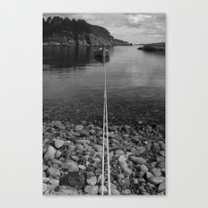 The Long Mooring Canvas Print