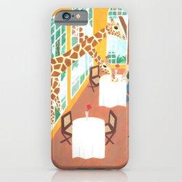 Giraffes in Nairobi iPhone Case