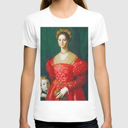 Agnolo Bronzino  -  A Young Woman And Her Little Boy T-shirt