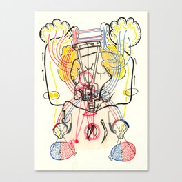Sensory Systems 4 Canvas Print