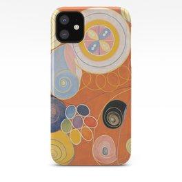 Hilma Af Klint Group IV No 3 iPhone Case