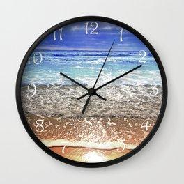 Beach Landscape Wall Clock