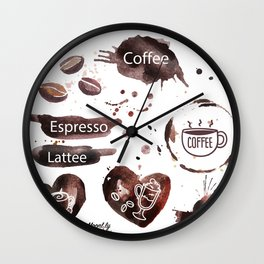 lattee Wall Clock