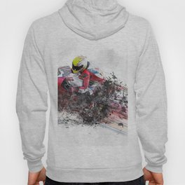 High Speed Motorcycle Racer Hoody