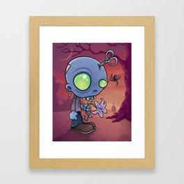 Zombie Jr. Framed Art Print