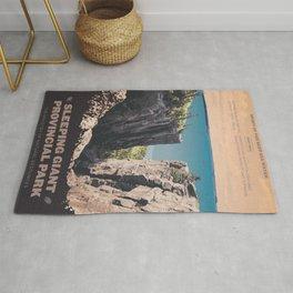 Sleeping Giant Provincial Park Rug