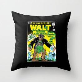 The Incredible Walt Throw Pillow