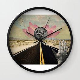 Never say goodbye Wall Clock
