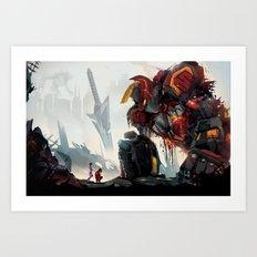 Fallen Heroes Art Print