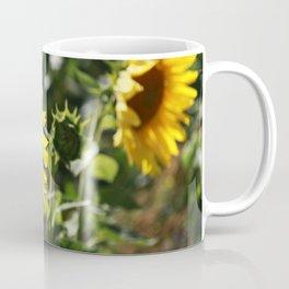 The German Sunflower Coffee Mug